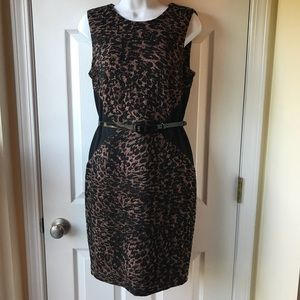 Calvin Klein Leopard Dress
